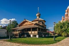 Chiesa di trinità santa di John-Baptist Monastery fotografia stock