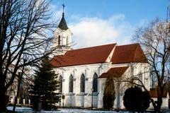 Chiesa di trinità santa a Minsk Immagini Stock