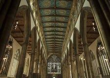 Chiesa di trinità santa di Minster del guscio, Kingston sopra il guscio, Yorks orientale fotografia stock libera da diritti