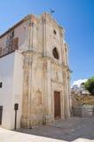 Chiesa di trinità santa. Monte Sant ' Angelo. La Puglia. L'Italia. Fotografia Stock Libera da Diritti