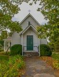 Chiesa di trinità santa in primavere di Glendale, Nord Carolina fotografia stock libera da diritti