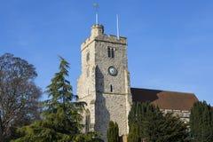 Chiesa di trinità santa in Rayleigh immagini stock libere da diritti