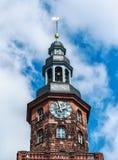Chiesa di trinità santa in vermi, Germania Fotografie Stock