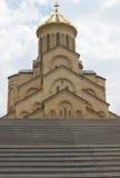 Chiesa di trinità, Tbilisi, Georgia Fotografia Stock