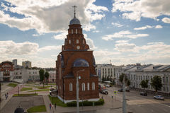 Chiesa di trinità Vladimir Russia May 2017 Fotografia Stock