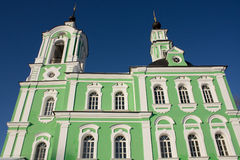 Chiesa di Troitse-Tikhvinskaya Fotografia Stock