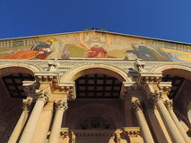 Chiesa di tutte le nazioni, Gerusalemme Fotografia Stock