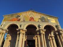 Chiesa di tutte le nazioni, Gerusalemme Fotografie Stock