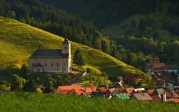 Chiesa di tutti i san. Fotografie Stock