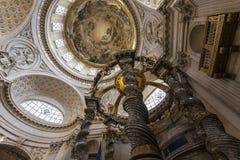 Chiesa di Val de Grace, Parigi, Francia Fotografia Stock