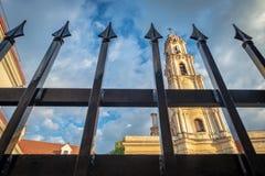 Chiesa di vergine Maria benedetto di consolazione, Vilnius fotografie stock libere da diritti