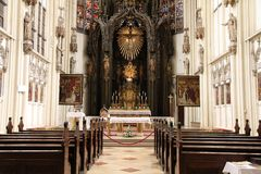 Chiesa di Vienna Fotografie Stock Libere da Diritti
