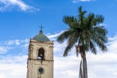 Chiesa di Vinales, Unesco, Vinales, Pinar del Rio Province, Cuba immagini stock libere da diritti