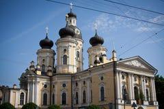 Chiesa di Vladimirskaya a St Petersburg Immagini Stock Libere da Diritti