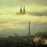 Chiesa di Vysehrad, Praga, repubblica Ceca Fotografia Stock