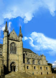 Chiesa di Waltrude del san a Mons, Belgio Fotografie Stock