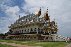 Chiesa di Wat Khun Inthapramun & x28; Buddhist& x29; immagine stock