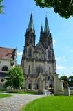 Chiesa di Wenceslas in Olomouc Immagini Stock