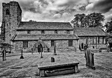Chiesa di Whalley St Mary, Whalley, Lancashire, Regno Unito Immagine Stock