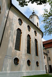 Chiesa di Wieskirche, Steingaden in Baviera, Germania Immagine Stock