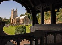 Chiesa di Wraxall Fotografia Stock