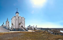 Chiesa di Xenia benedetta di Pietroburgo nel villaggio di Arskoye Russia Fotografia Stock