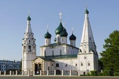 Chiesa di Yaroslavl fotografie stock