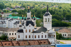 Chiesa di Zakhariya e di Elizabeth in Tobol'sk fotografie stock