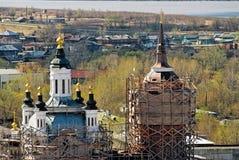 Chiesa di Zakhariya e di Elizabeth in Tobol'sk fotografia stock