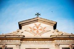 Chiesa diSanto Stefano dei Cavalieri Arkivbilder