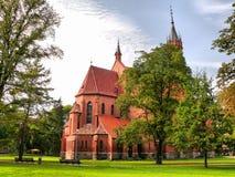 Chiesa in Druskininkai Immagini Stock Libere da Diritti