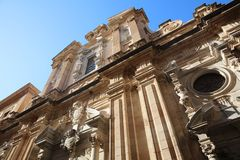 Chiesa e Collegio dei Gesuiti Church in Trapani. Sicily. Italy Stock Photography
