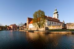 Chiesa e monastero gotici Fotografia Stock Libera da Diritti