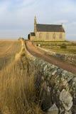 Chiesa e parete Immagine Stock