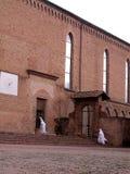 Chiesa e suore Immagini Stock