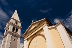 Chiesa e torretta Fotografia Stock
