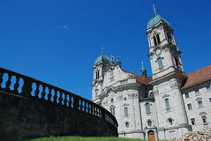Chiesa a Einsiedeln, Svizzera Fotografia Stock