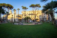 Chiesa evangelica di Valdese alla piazza Cavour a Roma Fotografie Stock Libere da Diritti