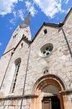 Chiesa evangelica in Hallstatt, Austria Immagini Stock