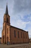 Chiesa Evangelical (1874) in Kehl, Germania Immagine Stock Libera da Diritti