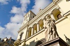 Chiesa Evangelical protestante Fotografia Stock Libera da Diritti