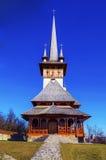 Chiesa fatta di legno e della pietra Immagine Stock Libera da Diritti