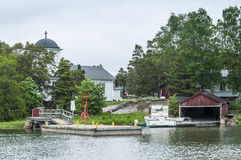 Chiesa Finlandia di Haapasaari Fotografia Stock