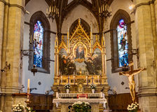 Chiesa a Firenze Immagini Stock