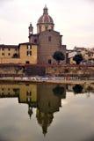 Chiesa a Firenze, Italia Fotografia Stock