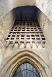 Chiesa fortificata in Mosna Immagini Stock Libere da Diritti