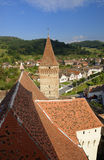 Chiesa fortificata rumeno Immagine Stock