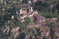 Chiesa fortificata a Sion fotografia stock libera da diritti