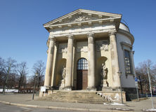 Chiesa francese, Potsdam, Germania Immagine Stock