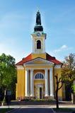 Chiesa in Franzensbad Fotografia Stock Libera da Diritti
